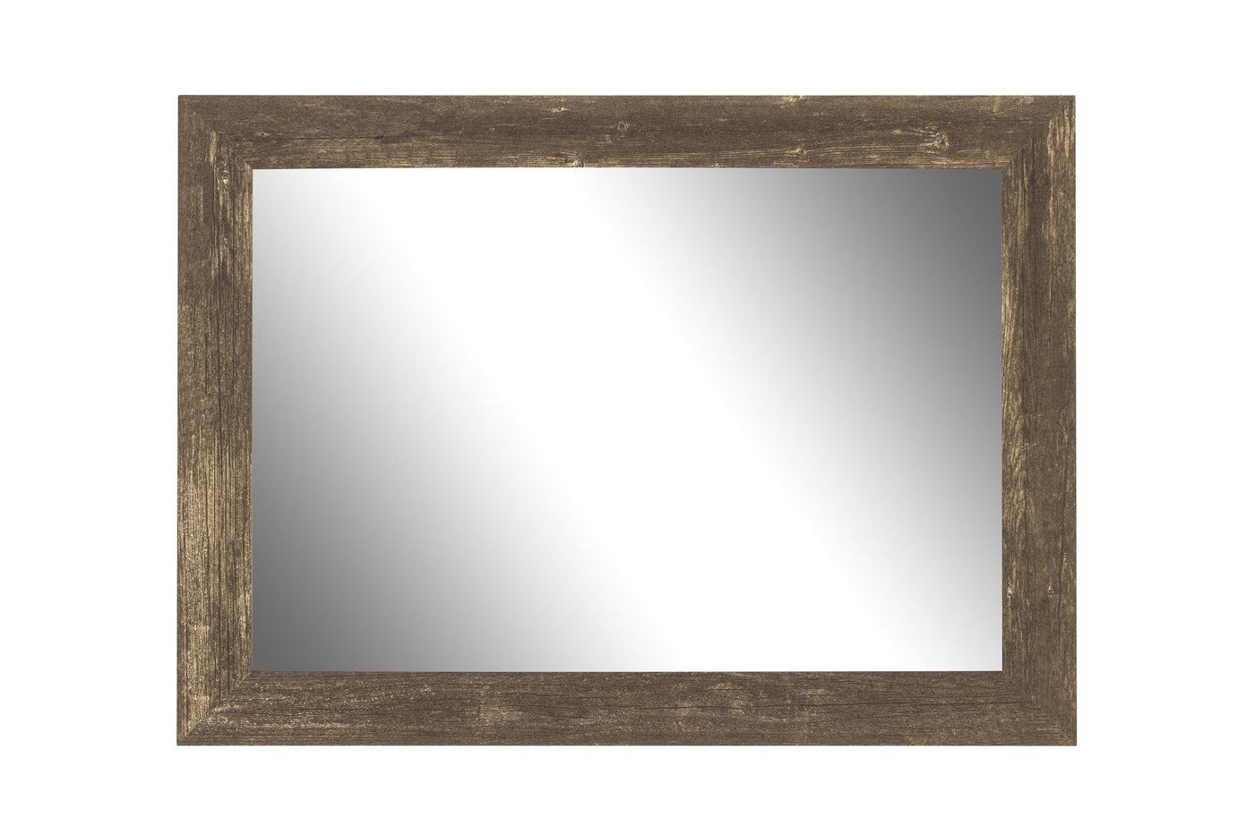 Farmhouse Brown Rustic Mirror Classy Mirrors