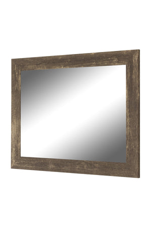 Farmhouse Brown Rustic Mirror Rustic Mirrors Hitchcock Butterfield