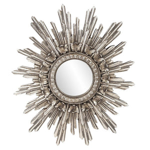 Chelsea Antique Silver Sunburst Mirror Antique Mirrors Howard Elliott