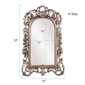 Sherwood Antique Silver Mirror Arch Mirrors Howard Elliott