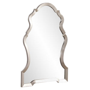 Nadia Bright Silver Mirror Arch Mirrors Howard Elliott