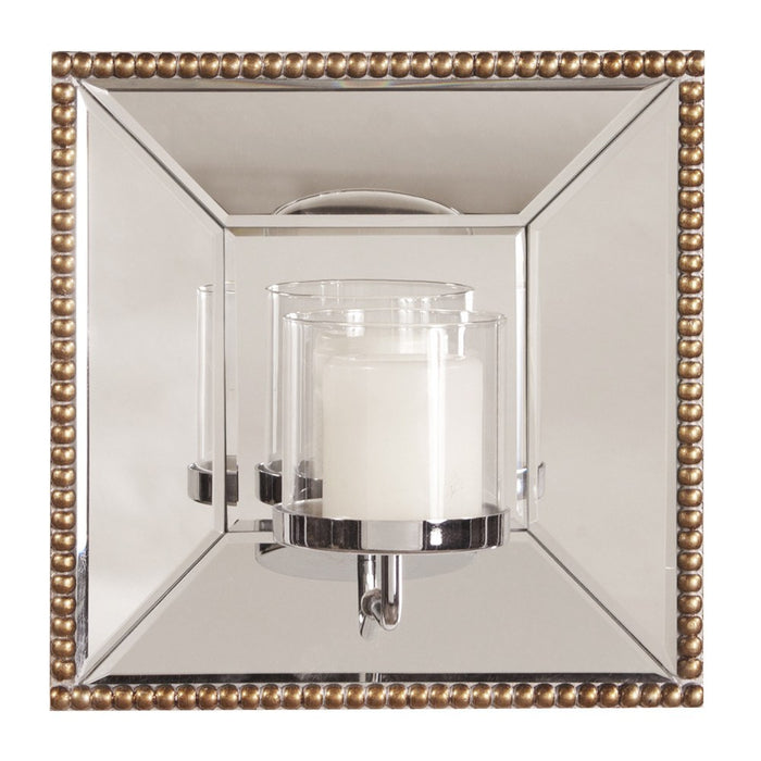 Lydia Mirror with Candle Holder