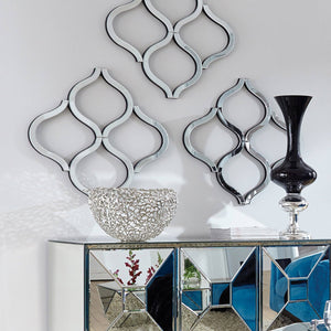 Lattice Abstract Mirror Decorative Mirrors Howard Elliott