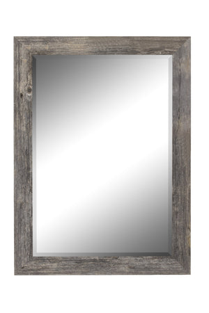 "Coastal Driftwood Mirror Rustic Mirrors Hitchcock Butterfield 26.75"" x 36.75"""