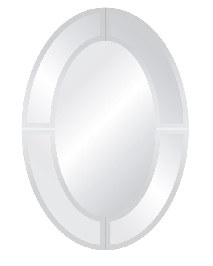 Royal Oval Overlay Mirror