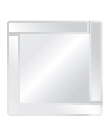 Royal Square Overlay Mirror Frameless Mirrors Spancraft Glass 30""