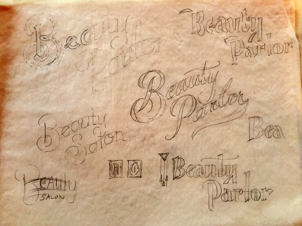 Beauty Parlor Sketches