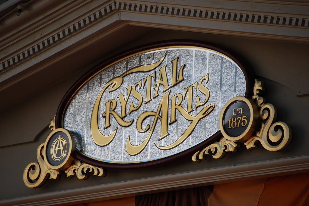 Crystal Arts Signage by Gary Godby