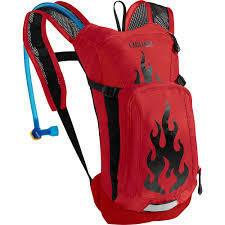 Camelbak Mini M.U.L.E. 50 oz Barbados Cherry Flames  ACCESSORIES - Go Run Miami