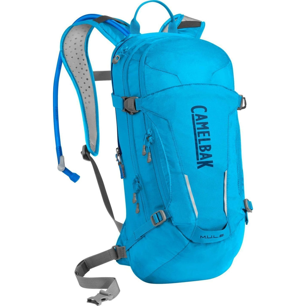 ACCESSORIES - CAMELBAK - Camelbak M.U.L.E. 100 oz Atomic Blue/Pitch Blue -  -  -  -  - Go Run Miami