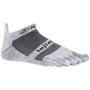 SOCKS - INJINJI - INJINJI RUN LIGHTWEIGHT NO SHOW XTRALIFE SOCKS - S / GRAY / Default - S - GRAY - Default - Go Run Miami