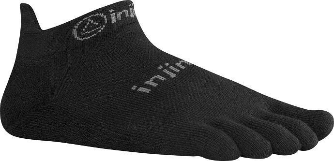 SOCKS - INJINJI - INJINJI RUN LIGHTWEIGHT NO SHOW XTRALIFE SOCKS - S / BLACK / Default - S - BLACK - Default - Go Run Miami