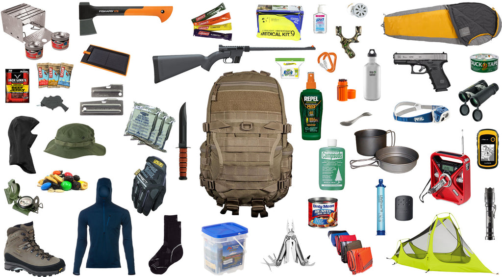 Don't Overwhelm Yourself Segment Your Bug Out Bag