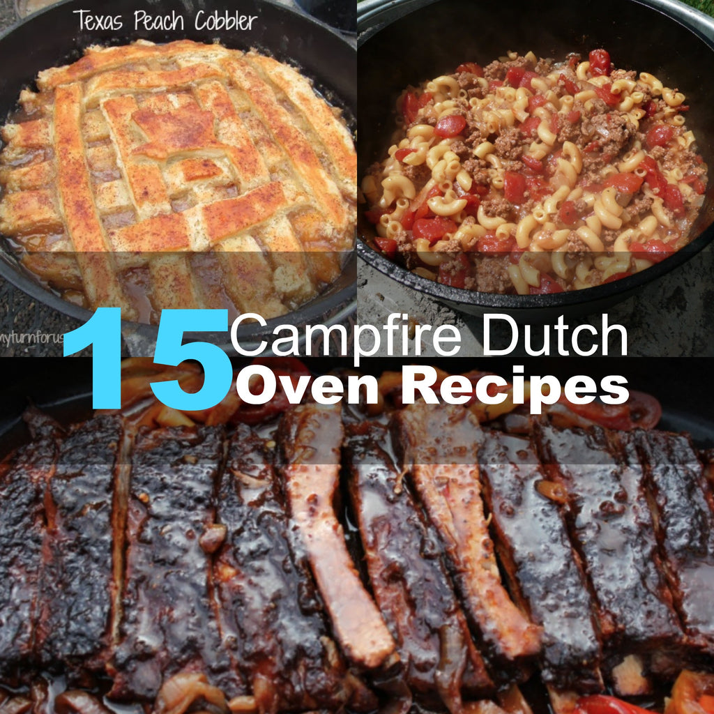 15 Campfire Dutch Oven Recipes