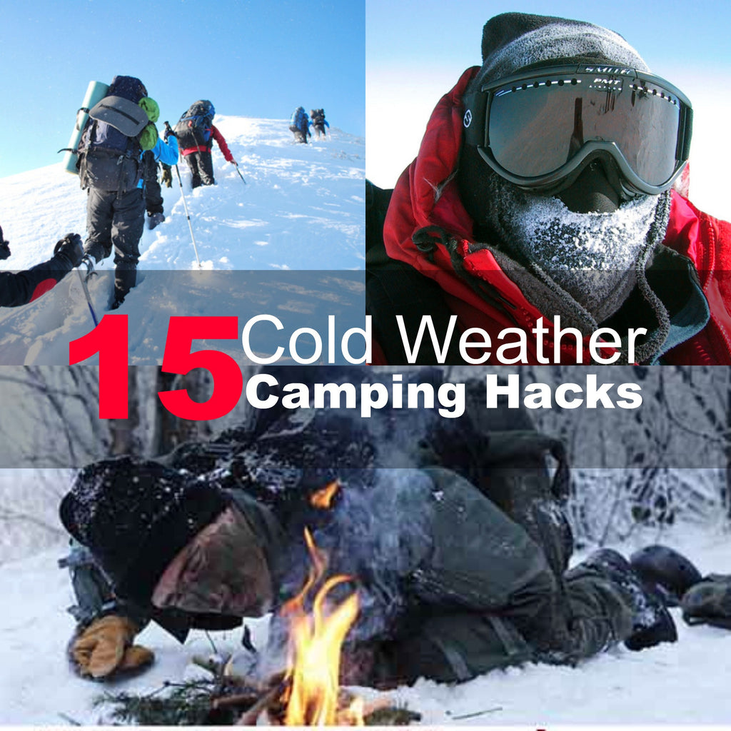 15 Cold Weather Camping Hacks