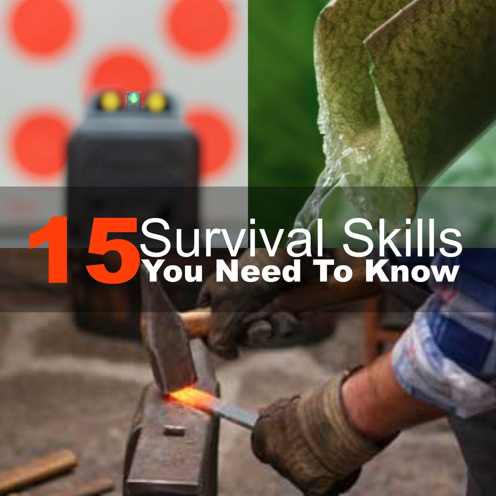 15 Survival Skills You Need To Know