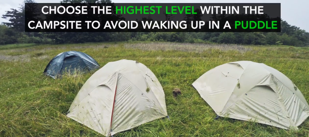 5 Camping Tips For The Rain