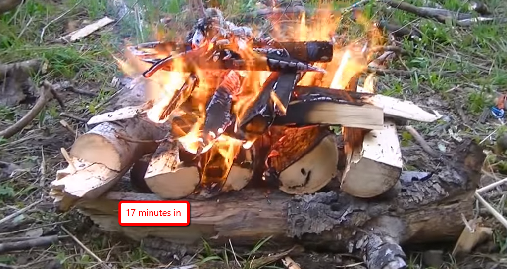 Why An Upside Down Campfire Is More Effective