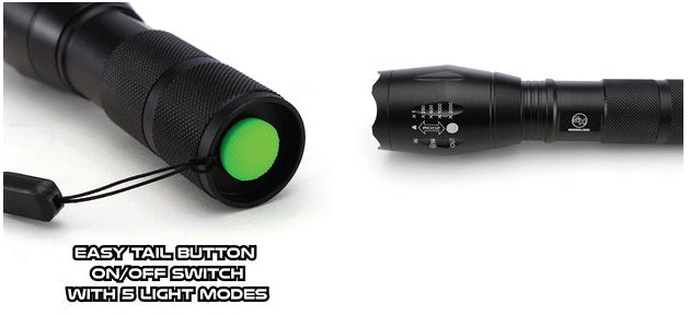 Tactical LED Flashlight Stats