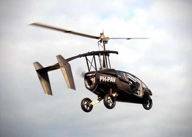 Pal-V-One-Personal-Air-and-Land-Vehicle