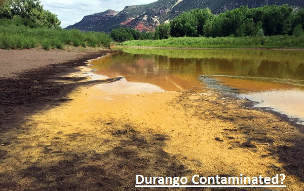 Recent chemical spill, contaminating 3 million gallons of Colorado river.