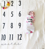 Original Monthly Milestone Blanket™ Ready to ship