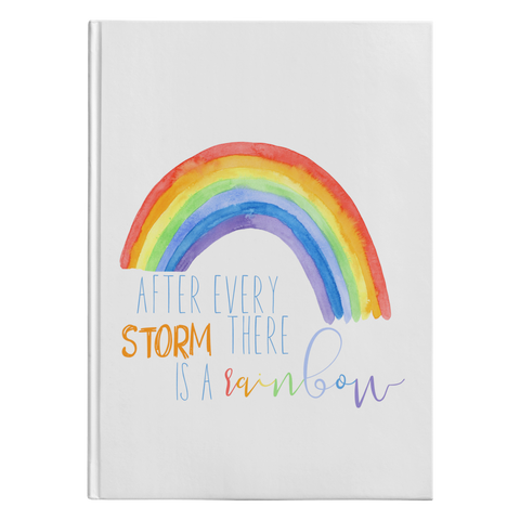 Rainbow Journal- After every storm comes the rainbow!