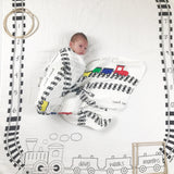 Trains Age Baby Milestone Blanket™