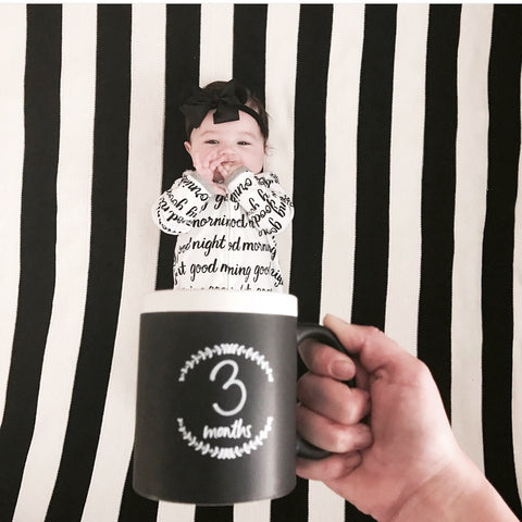 """Milestone Mug""- Baby in a mug photo!"
