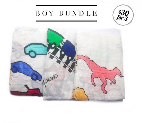 Boy Swaddle Bundle