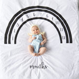 Signature Rainbow Monthly Milestone Blanket™- Ready to ship