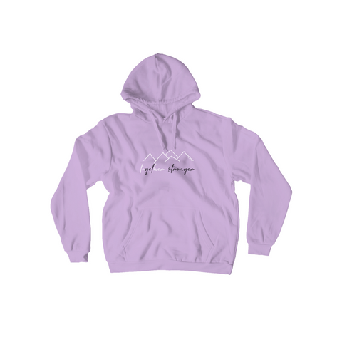Rett syndrome Fundraiser - Purple pullover mountains