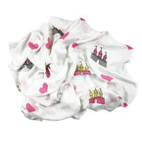 Castle Muslin Swaddle Blanket