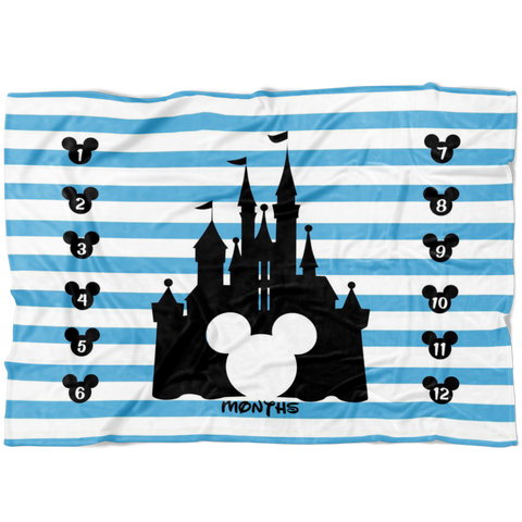 Magical Boy Mouse Milestone Blanket- Limited Edition Fleece