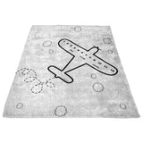 Airplane Milestone Blanket Limited Edition - Fleece