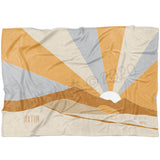 Boho Sands Blue Milestone Blanket - FLEECE - Limited Edition