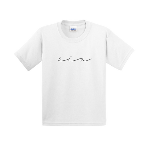 Minimalist Birthday Word Shirt