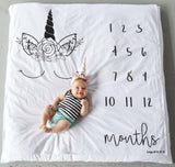 Unicorn Monthly Milestone Blanket™- Ready to ship