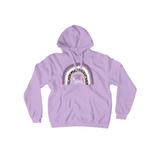 Rett syndrome Fundraiser Purple Rainbow Purple Hoodie