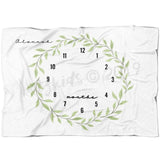 Leaf Wreath Limited Edition Blanket - FLEECE