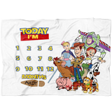 Toy Story Milestone Blanket - Limited Edition - FLEECE