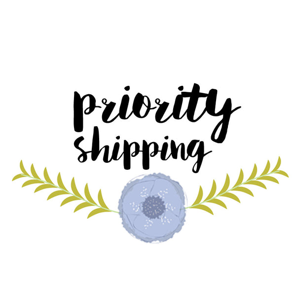 Priority Shipping (USA only)