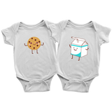 Milk & Cookies Bodysuits! Can't have one without the other!