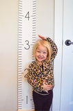 Numeric Canvas Wall Ruler - To help you continue marking milestones! up to 6.5 feet!