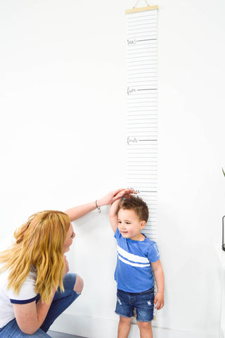 Canvas Growth Charts - To help you continue marking milestones! up to 6.5 feet!