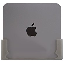 Danish Designed Wall Bracket for Apple Mac Mini and time capsule model A1254, A1302, A1355, A1409. Mounts your Device Perfectly on the Wall. (White)