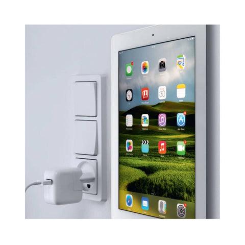 Clean and Cool Designed Ipad Wall Mount System. Fits Perfectly in both Car and on the Wall.