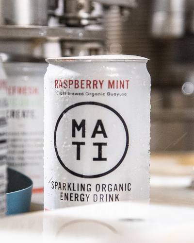 MATI Raspberry Mint on the brewery production line