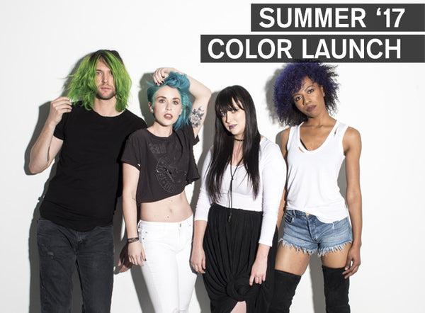 goodDYEyoung :: summer 17 color launch