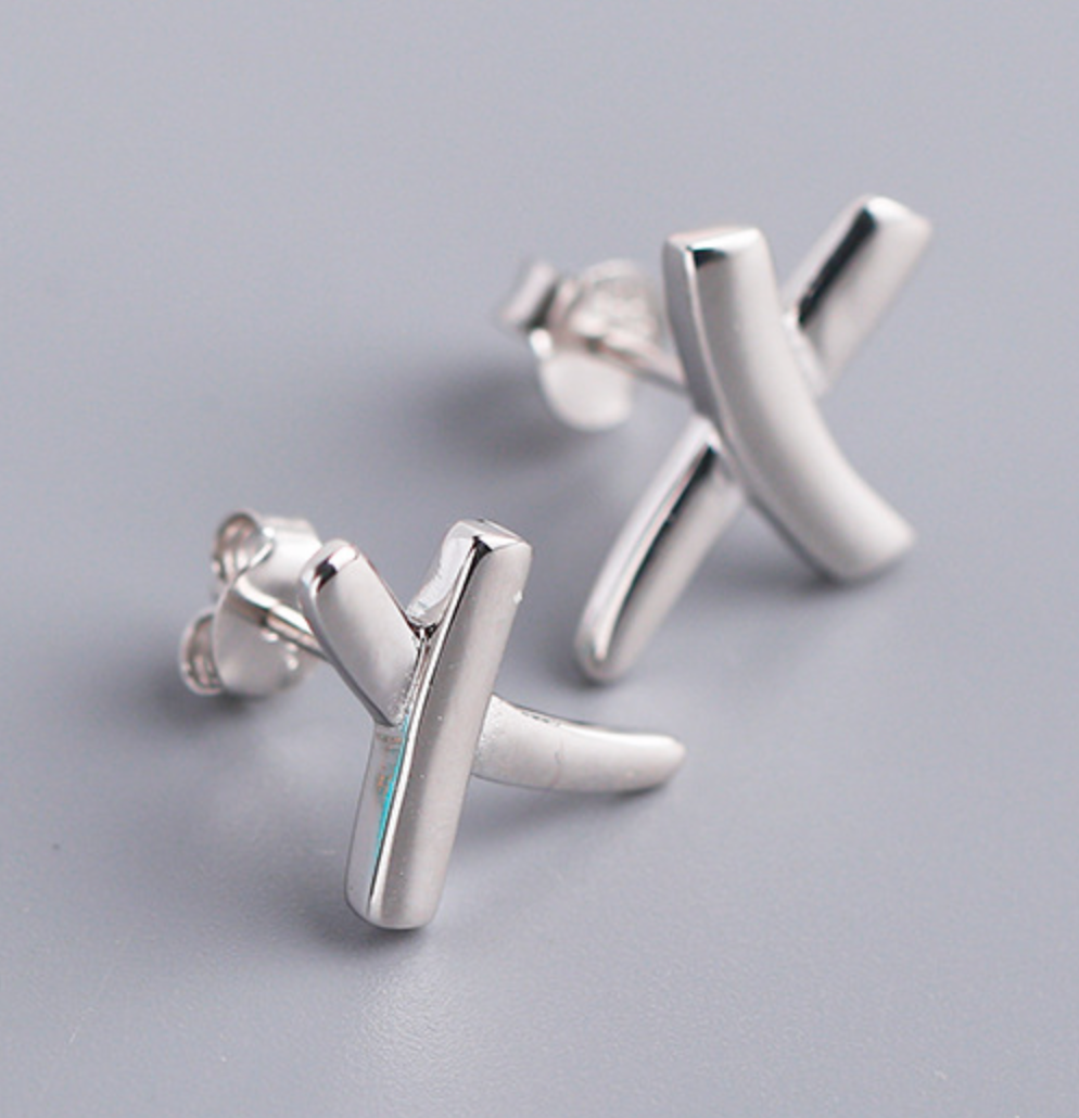 Tiffany &Co. Solid Silver Stud Earrings